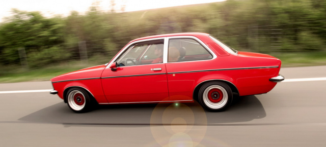 1978er Opel Kadett C Limousine Shining Star Klassik
