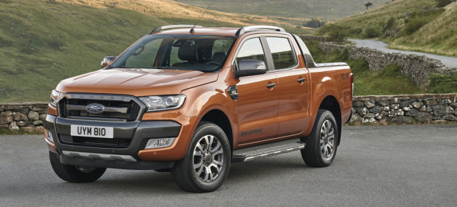 iaa premiere f r ford pick up neuer ford ranger in. Black Bedroom Furniture Sets. Home Design Ideas