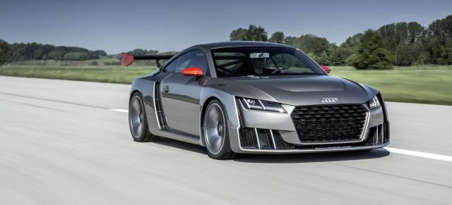 Video Audi Wörthersee Showcars 2015 Audi Zeigt Den Tt Clubsport
