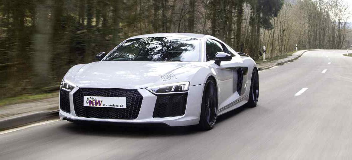 Upgrade für das Audi R8-Fahrwerk: Stufenlose Tieferlegung für den ...