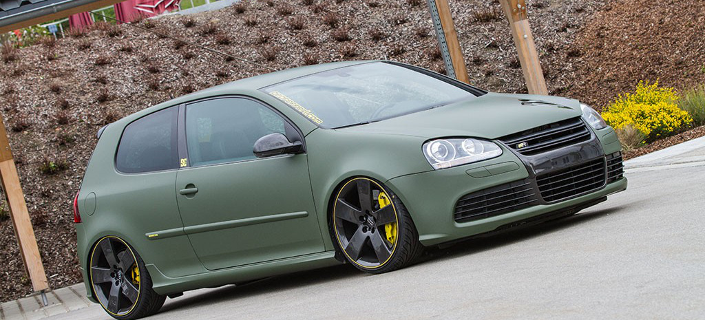 Lang Ist 180 S Her The Real Golf R32 Tief Breit Stark