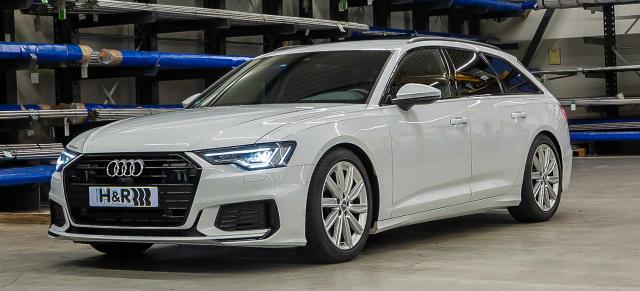Quadratur Der Ringe Hr Sportfedern Für Die Neue 2019er Audi A6