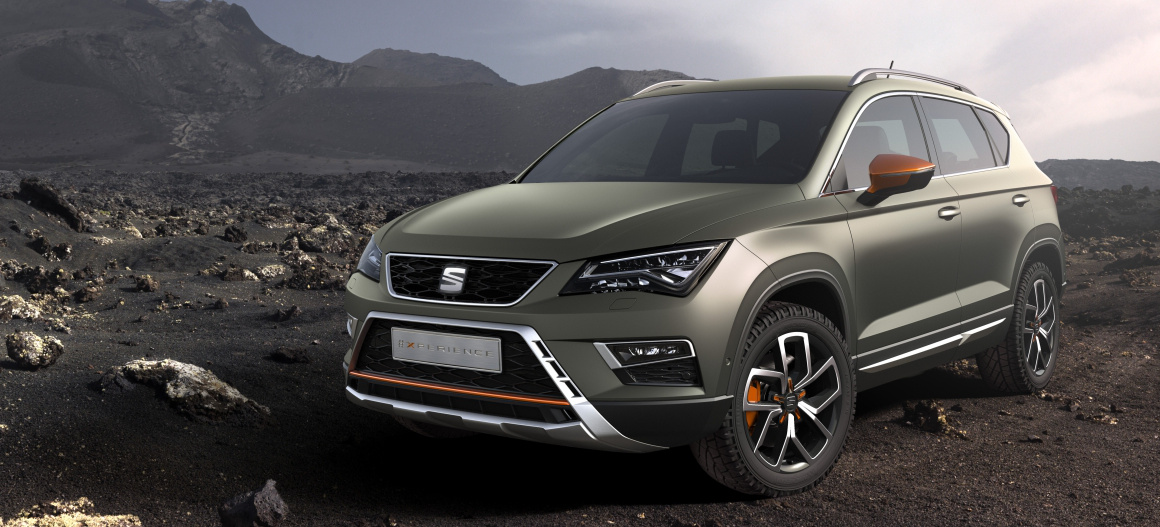 fit f rs gel nde der neue seat ateca x perience das ist die offroad version des neuen seat suv. Black Bedroom Furniture Sets. Home Design Ideas