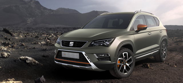 fit f rs gel nde der neue seat ateca x perience das ist. Black Bedroom Furniture Sets. Home Design Ideas