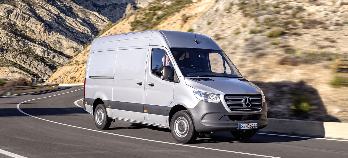 premiere mercedes benz sprinter 2018 das ist der neue sprinter news vau max das. Black Bedroom Furniture Sets. Home Design Ideas