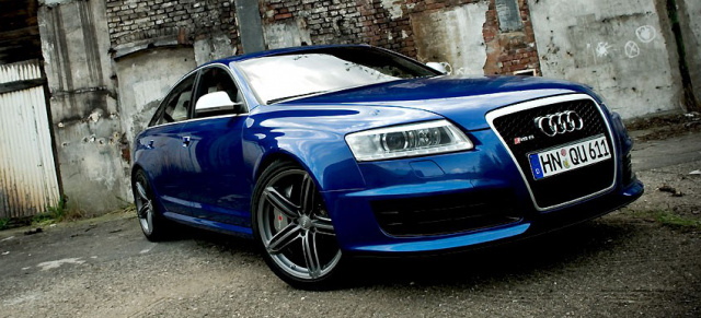 Fahrbericht Audi Rs6 Brutale Eleganz 2009 Vau Max De Testete