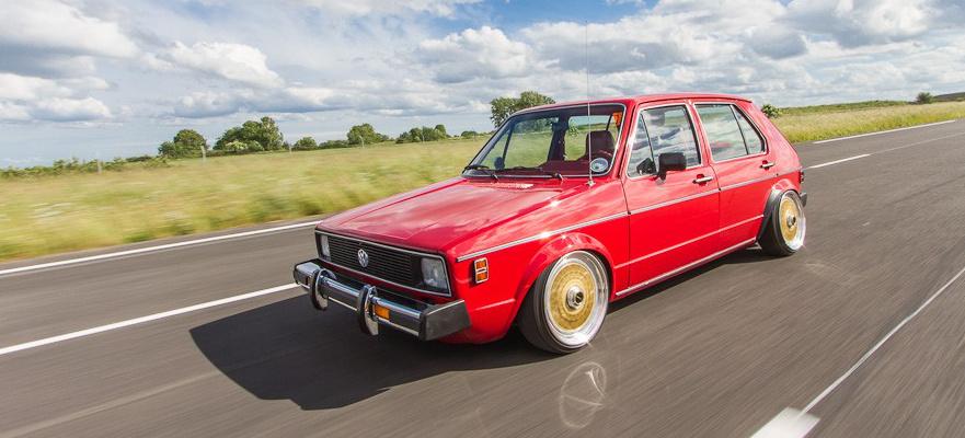 Will Smith ist: The Man in Red - 1980er VW Golf Rabbit: Dieser US-Golf ist viel gereist und hat doch wenig Kilometer auf dem Tacho - Auto der Woche