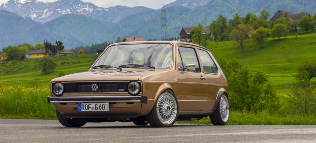 Vw Golf 1 Mit Viel Liebe Zum Detail Weniger Show Mehr Go Auto