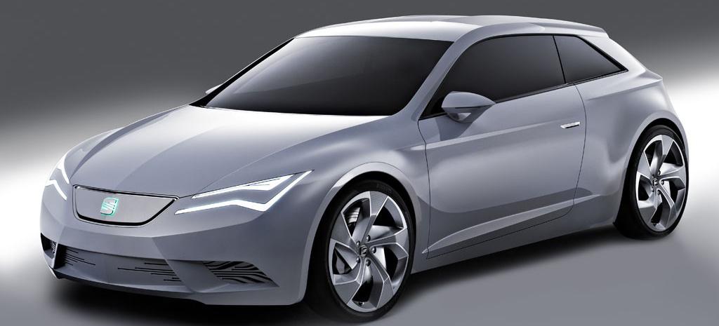 SEAT IBE Studie eines Ibiza Coupe?: Der junge Sportwagen für das Elektro-Zeitalter - VAU-MAX ...