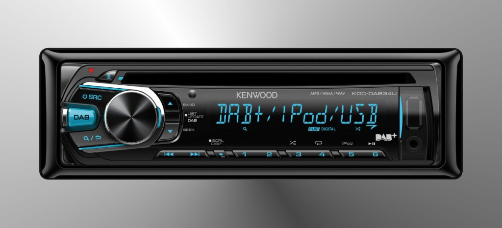 digitalradio neuester generation cd usb dab receiver kdc dab34u von kenwood digitalradio. Black Bedroom Furniture Sets. Home Design Ideas