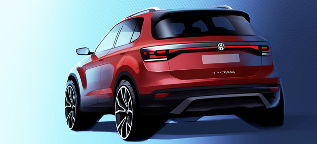 "Ein neues SUV-Format der Marke Volkswagen startet durch: der T-Cross: ""I am more than one thing"" – der neue T-Cross!"