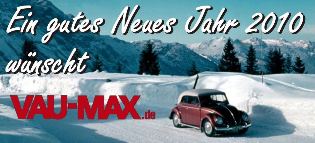 Ein Gesundes Neues Jahr 2010 W 252 Nscht Das Vau Max Team Guten Rutsch Und Eine Knitterfeies