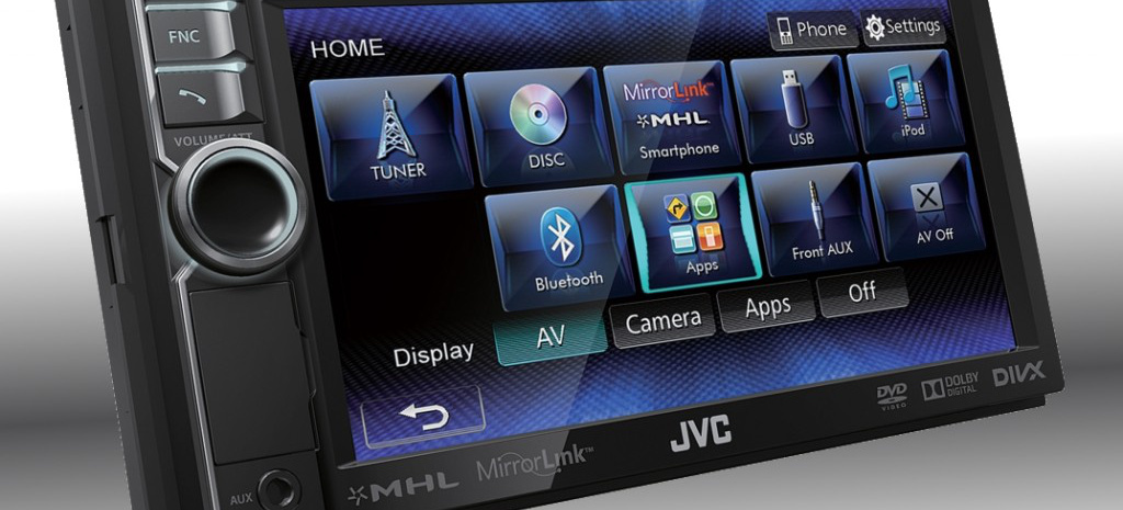 doppel din smartphone av receiver jvc kw nsx600e mit. Black Bedroom Furniture Sets. Home Design Ideas