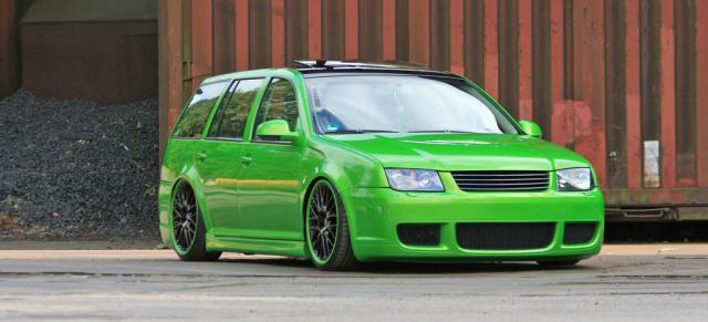 Grün und gründlich - VW Bora Variant Tuning: Neues aus der ...