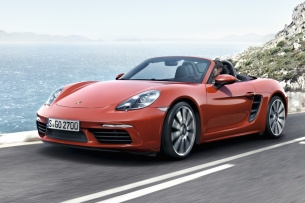 Video: Downsizing für Boxster 718: Vierzylinder-Turbo-Boxer für den Porsche 718 Boxster