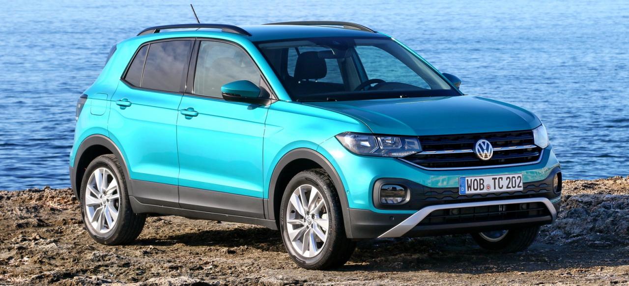 Ford Hybrid Suv >> Video: Der neue VW T-Cross (2019) im Fahrbericht: Einer ...