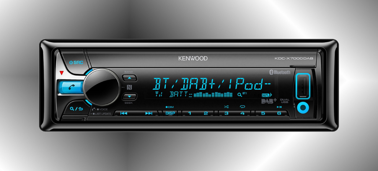 neuer kenwood dab receiver mit komfortabler nfc smartphone. Black Bedroom Furniture Sets. Home Design Ideas