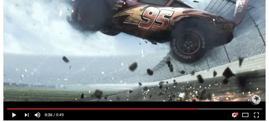 Ver 228 Ngstigt Disney Unsere Kinder Trailer Zu Cars 3 Lightning Mcqueen 180 S B 246 Ser Crash Vau Max