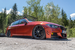 3-Air BMW: 320d Touring on Tuning-Tour