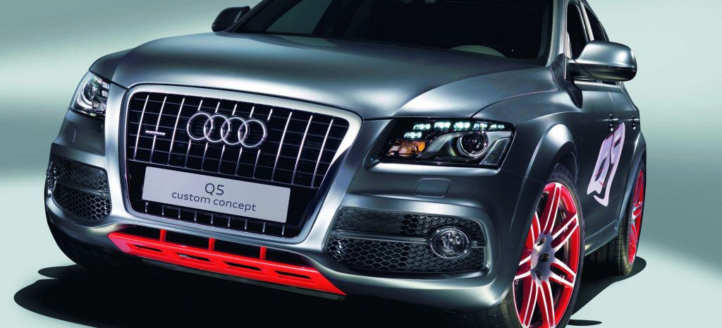 audi zeigt q5 custom concept am w rthersee audi tuning. Black Bedroom Furniture Sets. Home Design Ideas