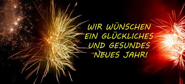 VAU-MAX.de wünscht ein erfolgreiches neues Jahr: Wir legen eine ...