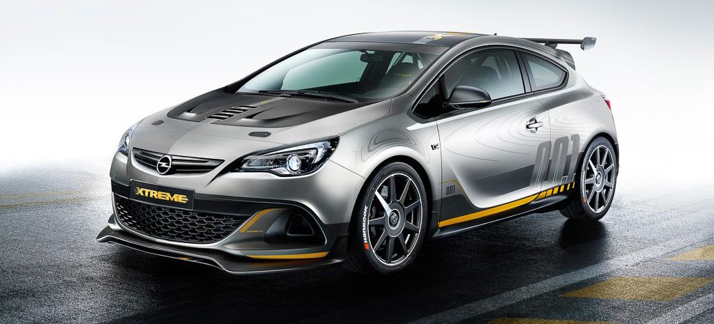 Alles zum neuen Opel Astra OPC EXTREME: Opel Sportler auf dem 84. Internationalen Automobilsalon in Genf - VAU-MAX-Inside