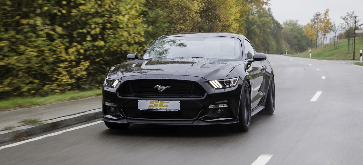 Neues Fahrwerk-Setup für Ford Mustang: ST suspensions ...