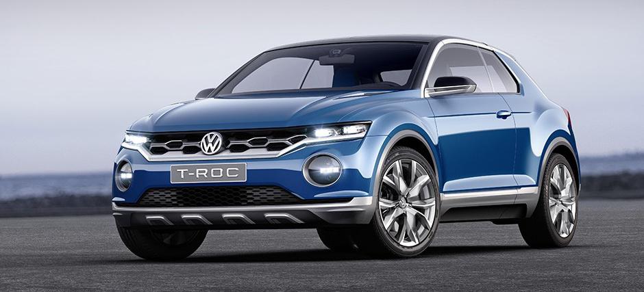 VW Studie: T-ROC gibt einen Ausblick auf den neuen Tiguan? (2014): T-ROC - Eine Mischung aus Scirocco und Tiguan - VAU-MAX-Inside