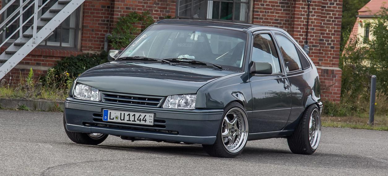 Old-School Tuning mit Vitamin E: 1991er Opel Kadett E mit ...