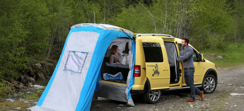 cross caddy mit tramper ausstattung bestellbar cross. Black Bedroom Furniture Sets. Home Design Ideas