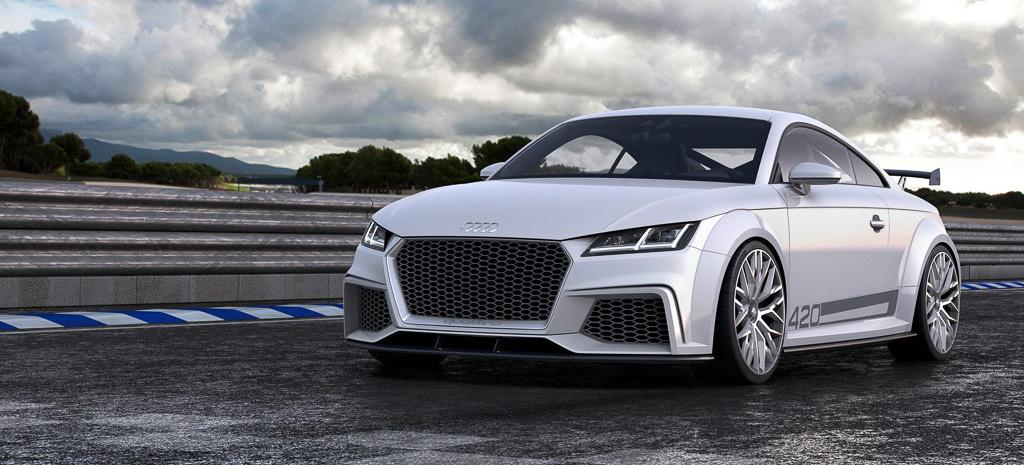 Alles bleibt wie es ist: Der neue Audi TT plus ein Vorgeschmack auf den TT RS (2015er Modell): Das ist die dritte Generation des Audi TT und die Studie sport concept. - VAU-MAX-Inside