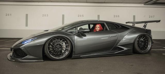 Breit Tief Laut Und Gemein Der Liberty Walk Lamborghini