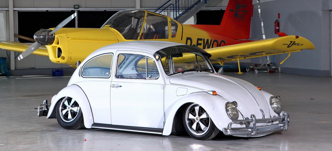 VW Käfer auf dem Boden der Tatsachen: Tiefe ist alles ...