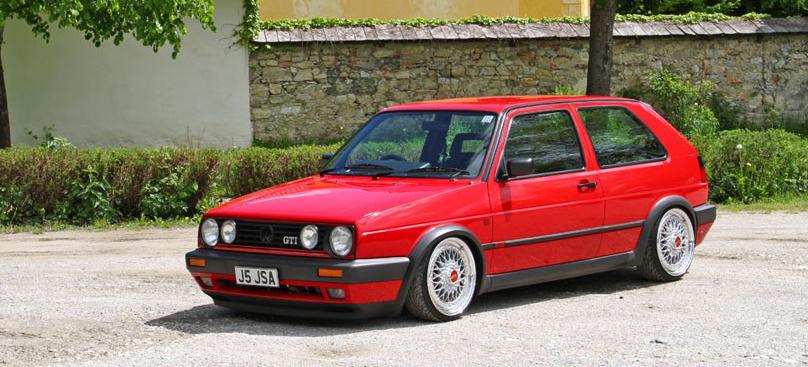 Alles Auf Rot Perfekter Golf 2 Mit Audi 1 8t S3 Motorumbau