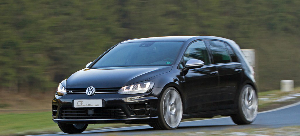 B&B-Leistungsplus für den VW Golf 7 R: Powerupdate in drei Stufen bis 420 PS