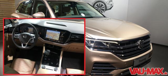 """Unterwegs im 2018 VW Touareg """"Atmosphere"""": Erste Fahrt im neuen VW ..."""