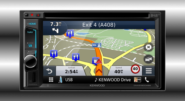 neue kenwood multimedia navi mit iphone anbindung per. Black Bedroom Furniture Sets. Home Design Ideas