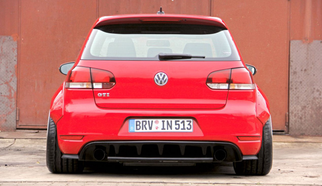dicke backen f r den vw golf 6 gti liberty style. Black Bedroom Furniture Sets. Home Design Ideas