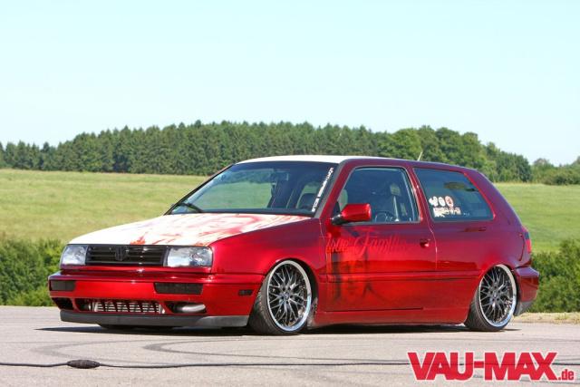 True Familia Golf 3 Vr6 Turbo Als Rollende Erinnerung Mit