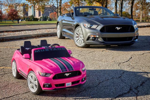 Fur Kleine Pony Car Fans Ford Mustang Modell Fur Kinder News