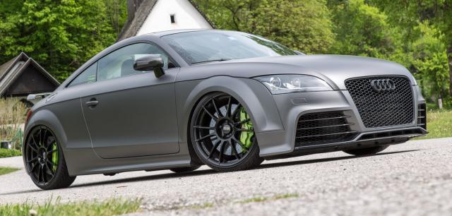 Graues Phantom Audi Tts Mit O Z Und Reichlich Druck