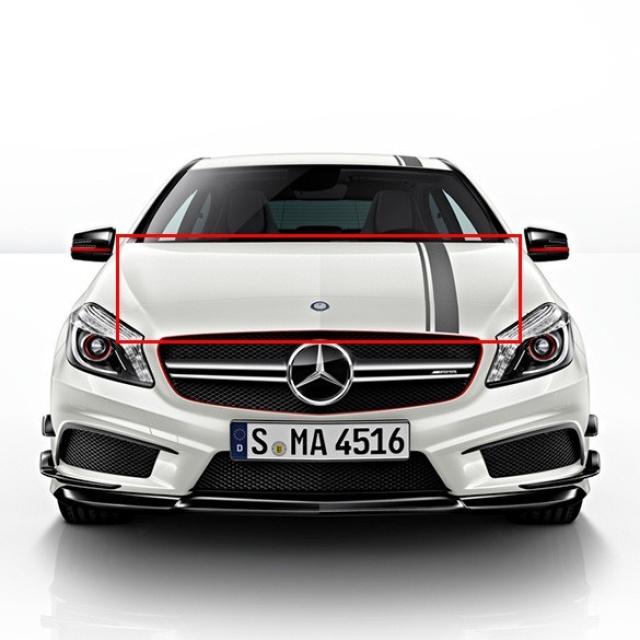 A45 AMG Edition 1 Spiegel Zierstreifen Foliensatz Mercedes-Benz A-Klasse W176