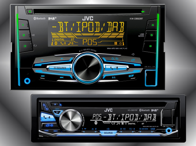 neue jvc receiver mit digitalempfang im 1 und doppel din. Black Bedroom Furniture Sets. Home Design Ideas