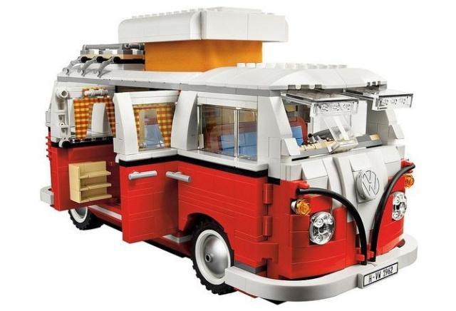 der vw t1 camper aus lego steinen zum selbst bauen lego. Black Bedroom Furniture Sets. Home Design Ideas