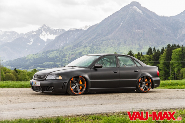 Do It Yourself Audi Rs4 Look An Supertiefer B5 Limousine