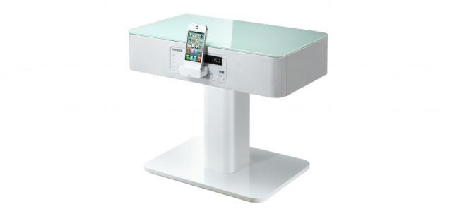 ifa-neuheit 2012: stylisches klangmöbel mit integriertem, Wohnzimmer