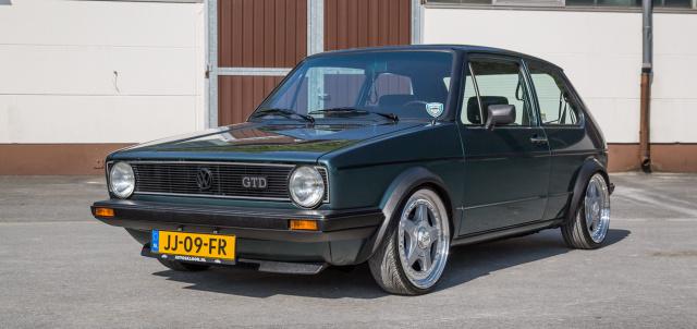 3f Zeitmaschine Mit Turbodiesel 1983er Vw Golf 1 Gtd Dezent