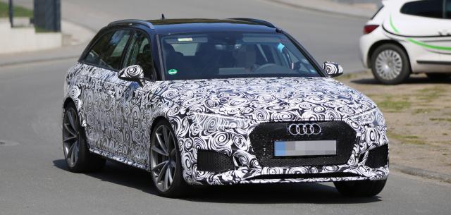 Das Wird Die Neue Audi RS4-Familie (2017): Porsche-Technik