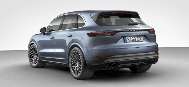 iaa 2017 alles neu am porsche cayenne das ist die neue. Black Bedroom Furniture Sets. Home Design Ideas
