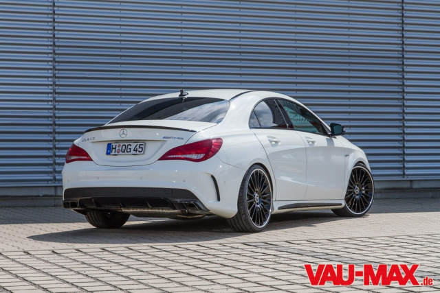 tuning quickie f r den mercedes benz cla 45 amg dezente. Black Bedroom Furniture Sets. Home Design Ideas